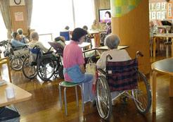 特別養護老人ホームの様子